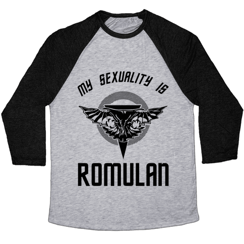 My Sexuality Is Romulan Baseball Tee