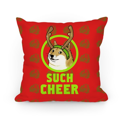 Christmas Doge Pillow