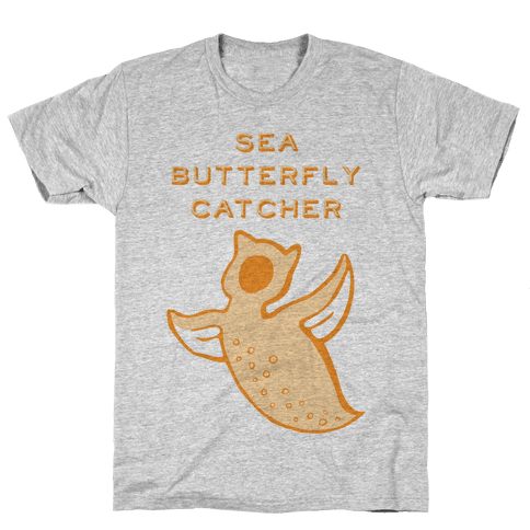 Sea Butterfly Catcher Mens T-Shirt