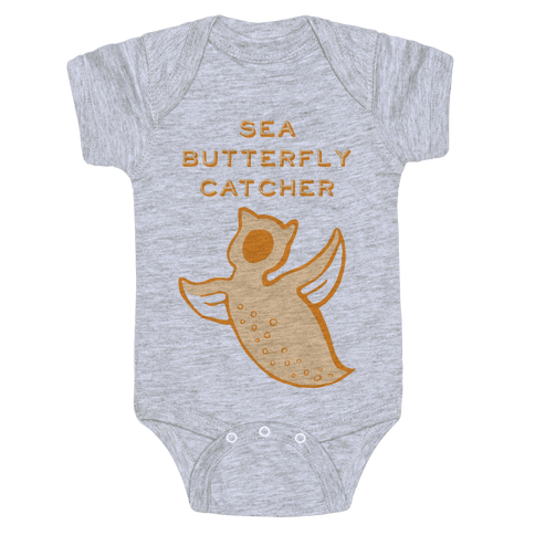 Sea Butterfly Catcher Baby Onesy