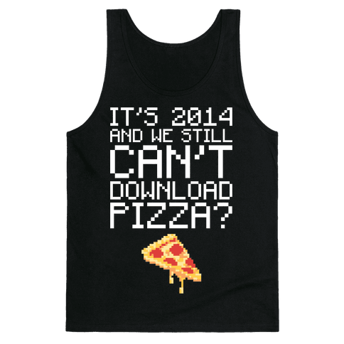 Pizza Download Tank Top