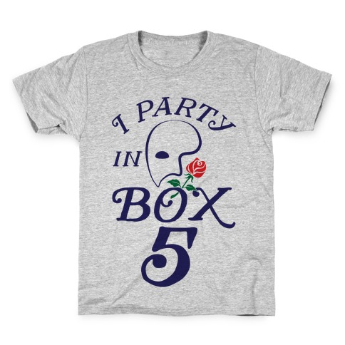 I Party In Box 5 Kids T-Shirt