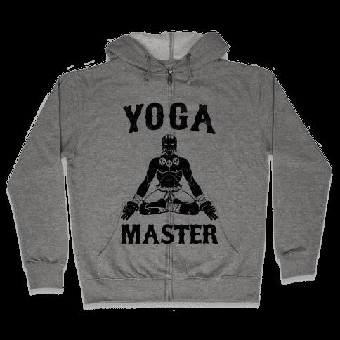 Yoga Master Dhalsim Zip Hoodie