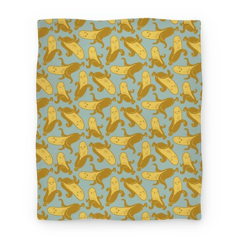 Banana Pattern Blanket