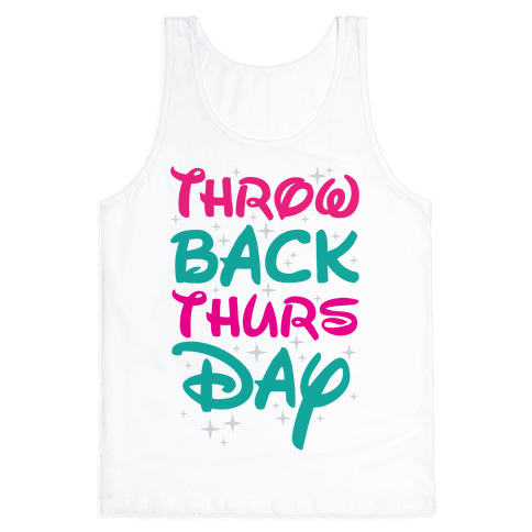 Throwback Thursday Tank Top
