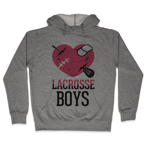 Lacrosse Boys Hooded Sweatshirt