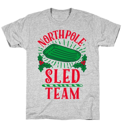 North Pole Sled Team T-Shirt