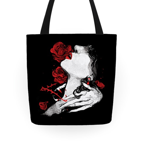 Dracula Book Cover Tote