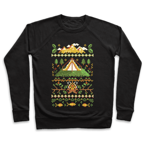 Ugly Camping Sweater Pullover