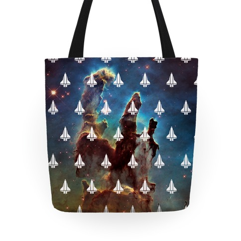Eagle Nebula Space Pattern (Alternate) Tote