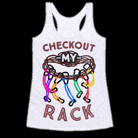 Checkout My Rack Racerback Tank Top