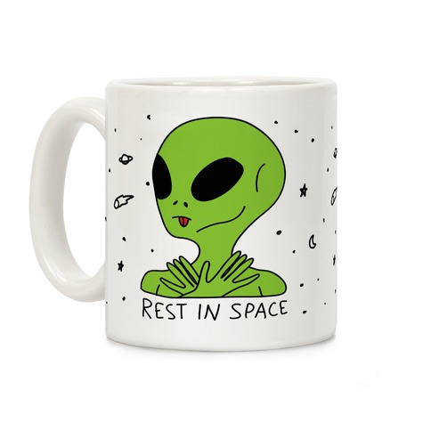 Rest In Space Coffee Mug