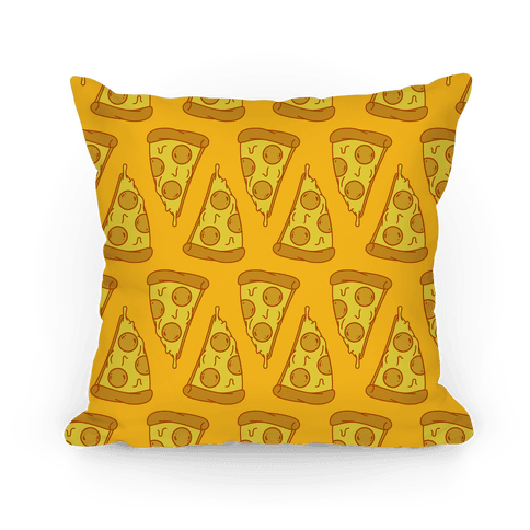 Pizza Pattern Pillow