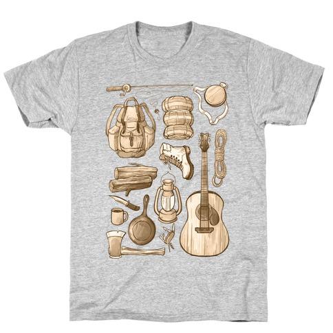 Camping Gear T-Shirt