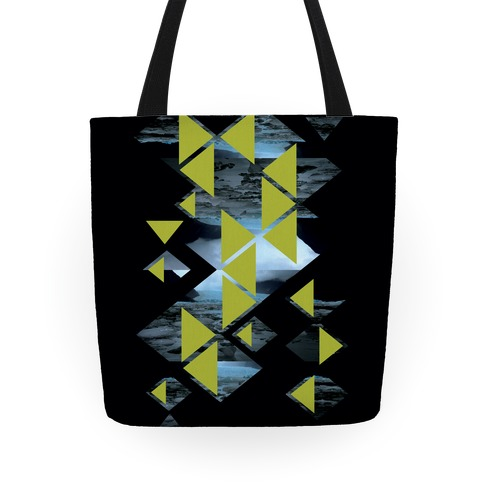 Glacier Collage Tote