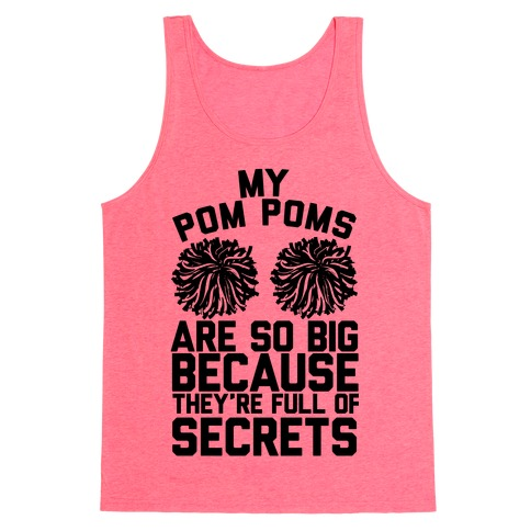 My Pom Poms Tank Top