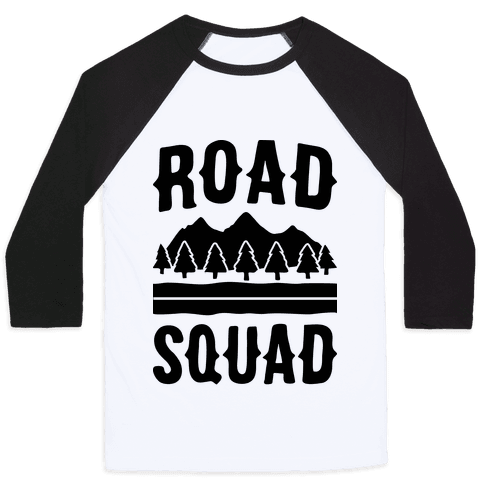 Road Squad Baseball Tee