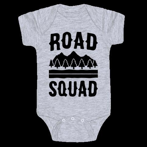 Road Squad Baby Onesy