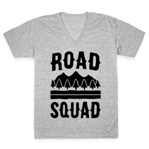 Road Squad V-Neck Tee Shirt