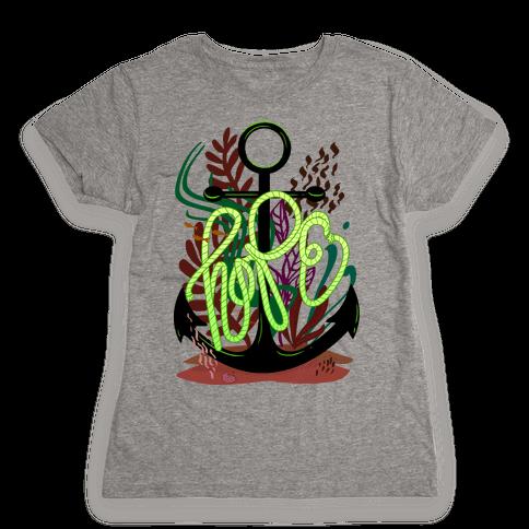 Hope (Deep Sea) Womens T-Shirt