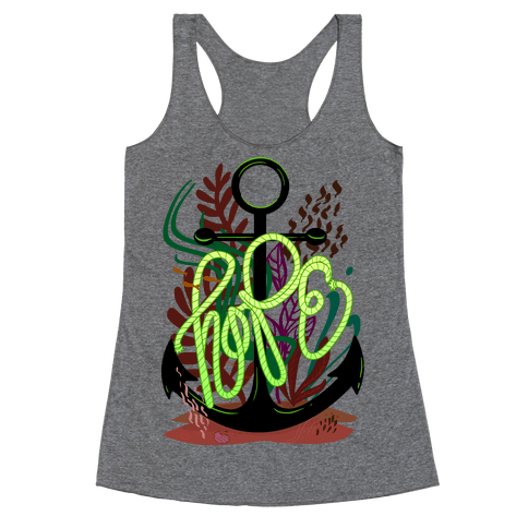 Hope (Deep Sea) Racerback Tank Top