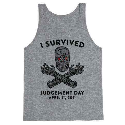 I Survived Judgement Day Tank Top