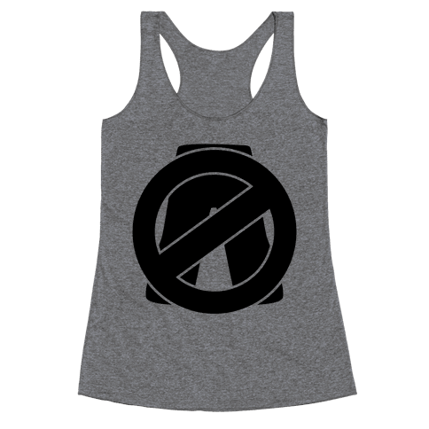 No Pants Zone Racerback Tank Top