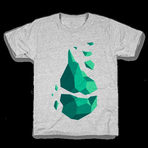 Broken Quartz Mountain Kids T-Shirt