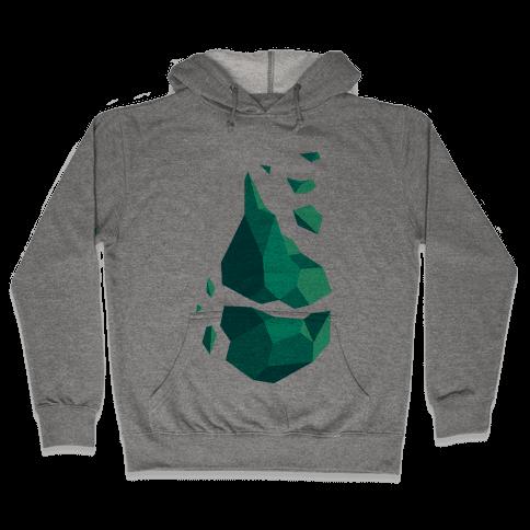 Broken Quartz Mountain Hooded Sweatshirt