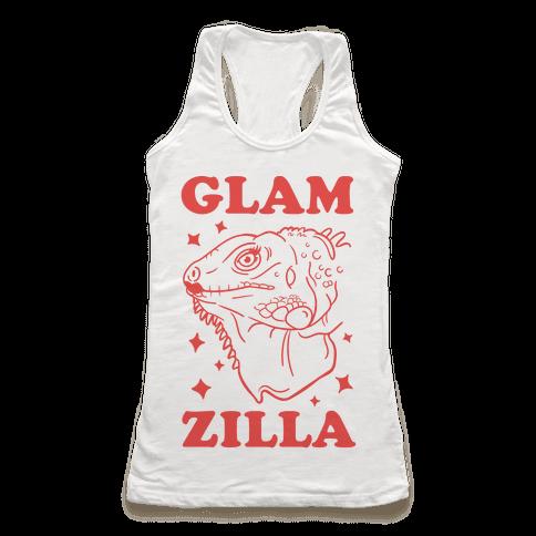 Glamzilla Racerback Tank Top