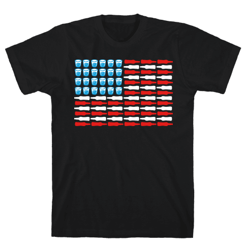 United Drinks of America Mens T-Shirt
