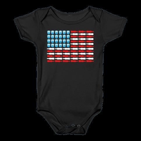 United Drinks of America Baby Onesy
