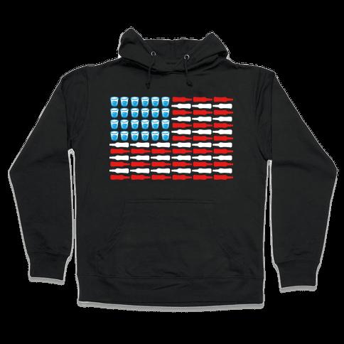 United Drinks of America Hooded Sweatshirt