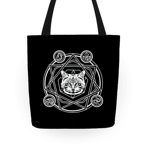 Witch's Cat: The Elements Tote