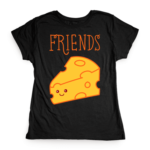 Best Friends Macaroni and Cheese 2 Womens T-Shirt