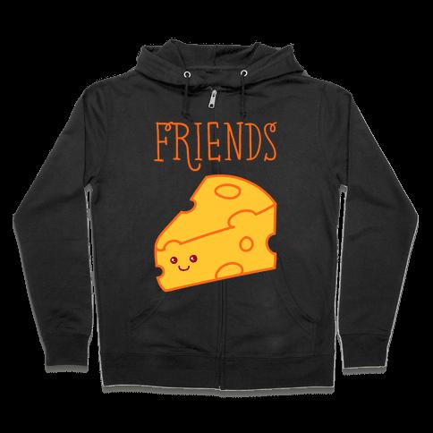 Best Friends Macaroni and Cheese 2 Zip Hoodie