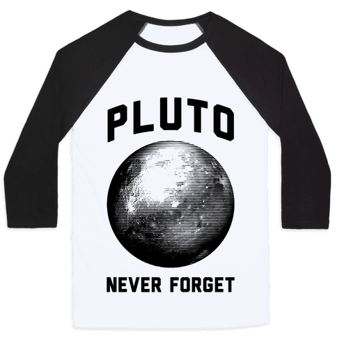 Pluto Baseball Tee