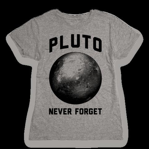 Pluto Womens T-Shirt