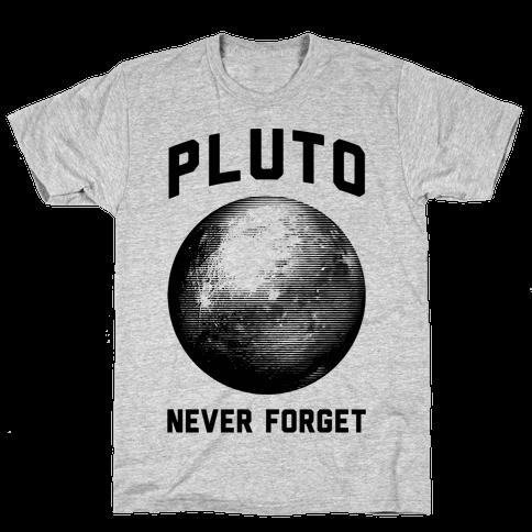 Pluto Mens T-Shirt
