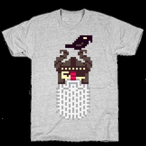 Pixel Odin Mens T-Shirt