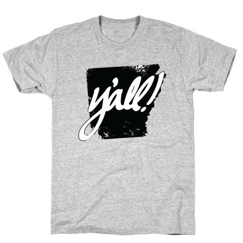 Y'all! (Arkansas) Mens T-Shirt