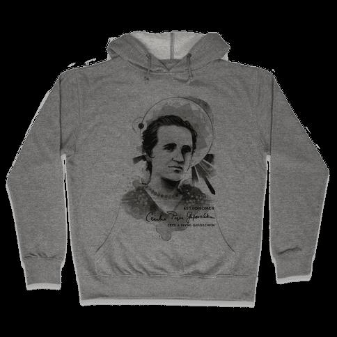 Cecilia Payne-Gaposchkin Famous Astronomer Hooded Sweatshirt