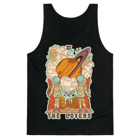 The Lovers in Space Tank Top