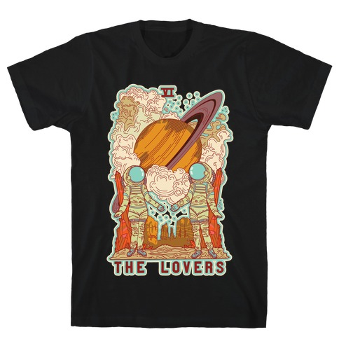 The Lovers in Space T-Shirt