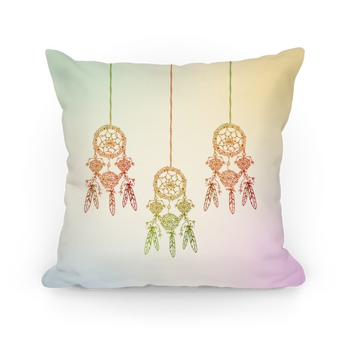 Ombre Dreamcatchers Pillow