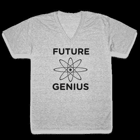 Baby Genius V-Neck Tee Shirt