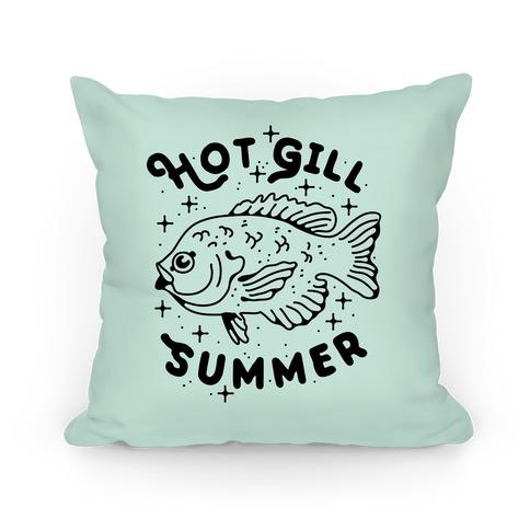 Hot Gill Summer Pillow
