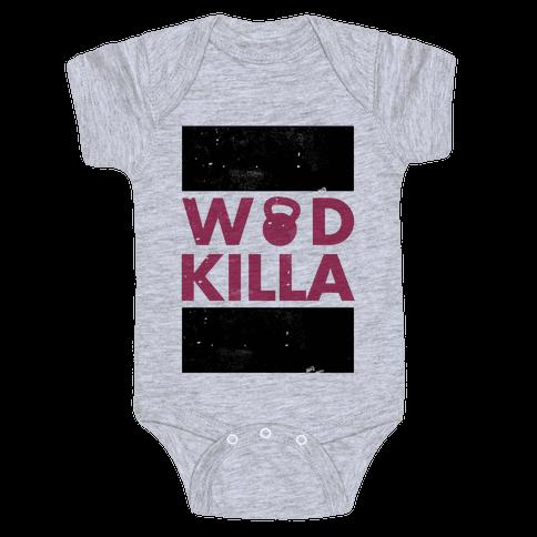 Crossfit Killa Baby Onesy
