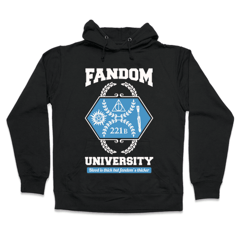 Fandom University Hooded Sweatshirt