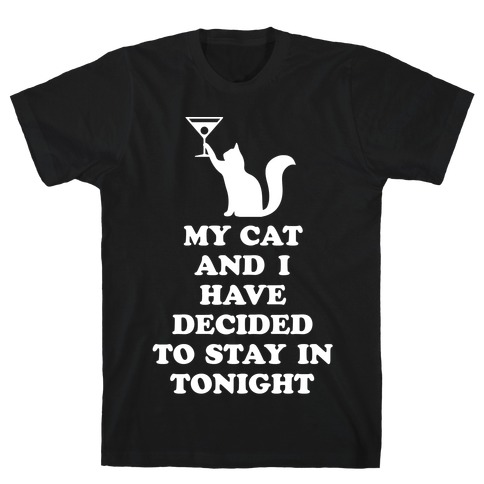 My Cat And I T-Shirt